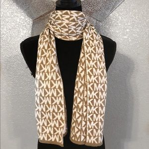 Michael Kors tan Sweater Scarf